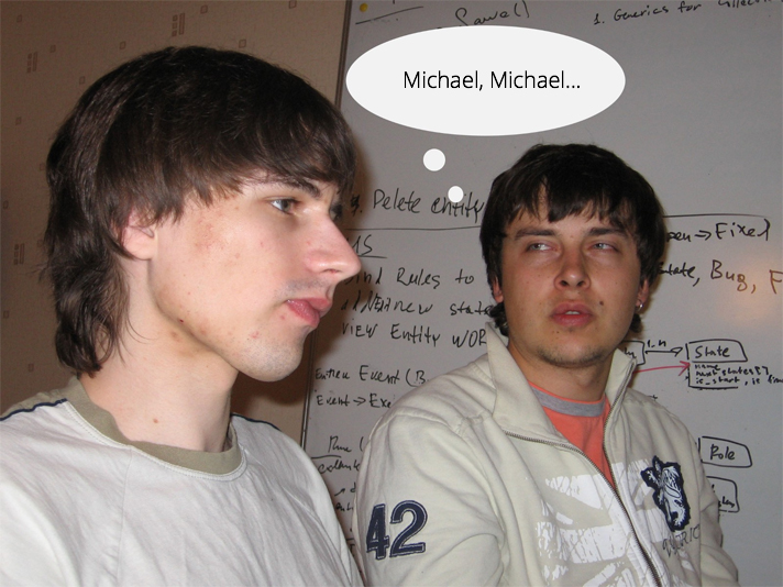 Oleg was a .NET expert, and he capitalized on that skill.